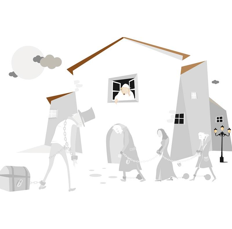 Cuento de Navidad ilustración5 / editorial:  The Elephant Factory